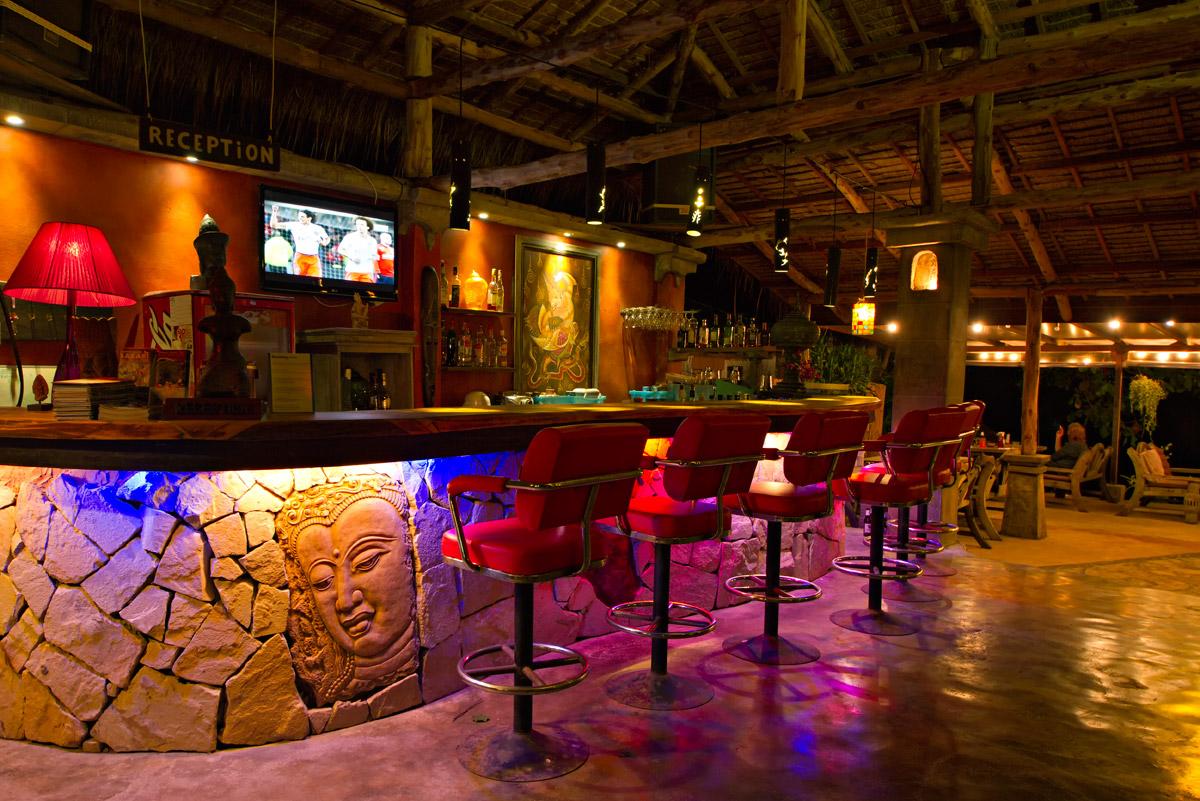 Bar Cactus Bungalows Restaruant Bungalow